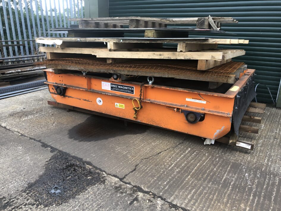 Eriez 1500 wide Permanent Overband Magnet
