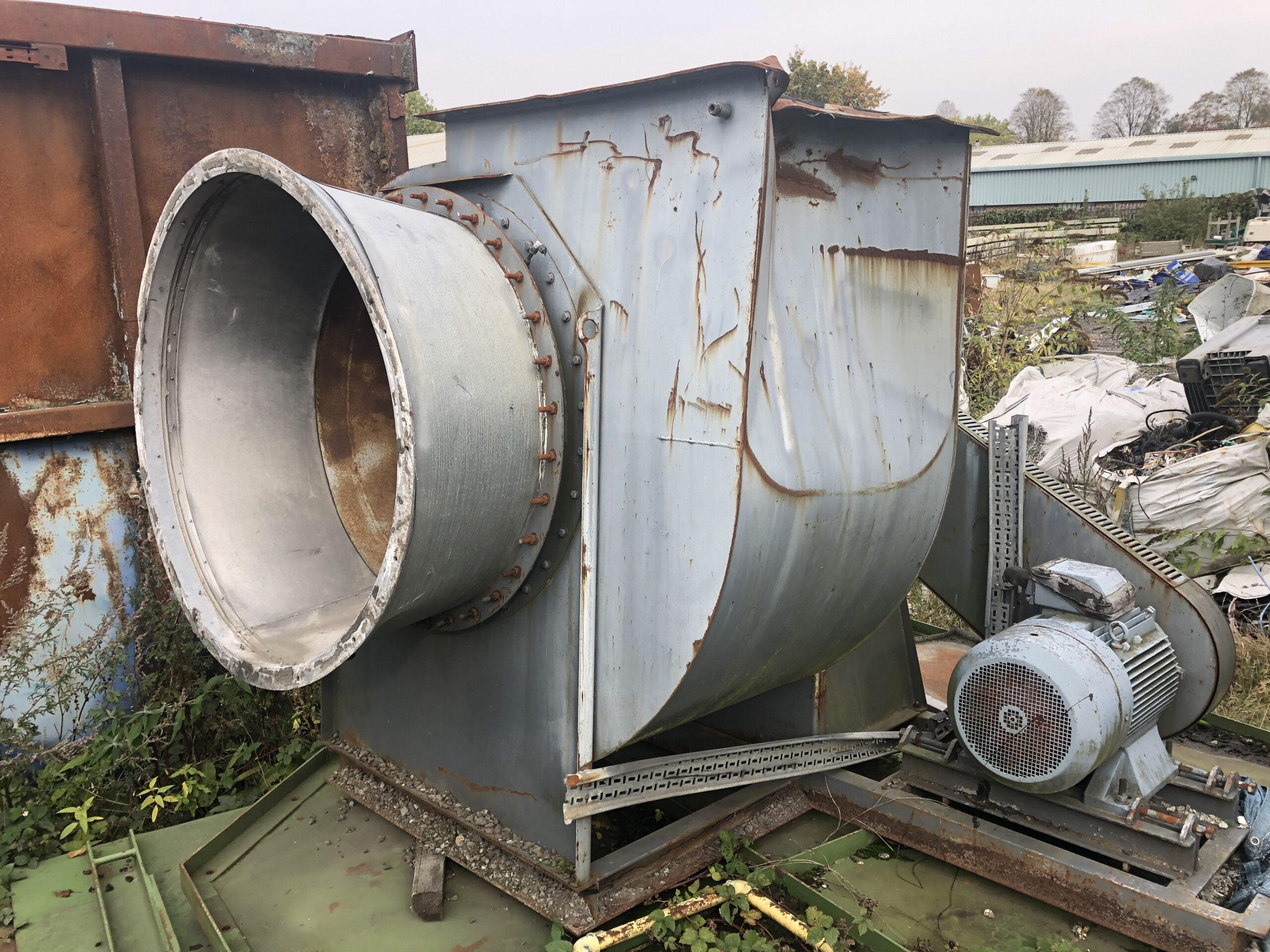 RHF 55kw Centrifugal Fan 1